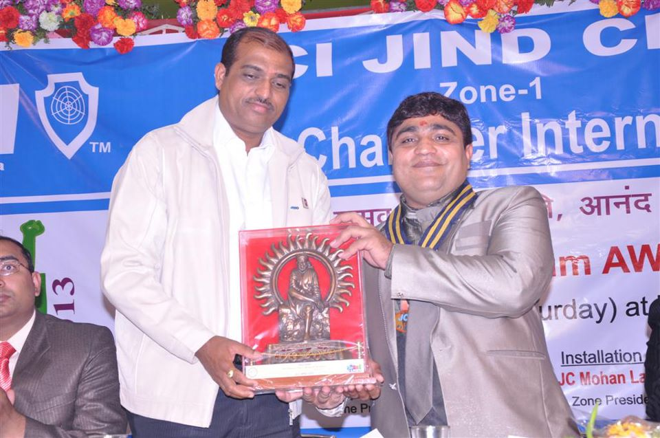 Our Director with Sh. Vinod Singla