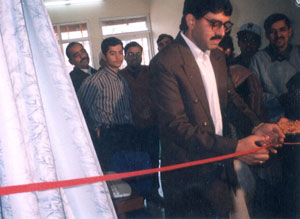 Inauguration Ceremony of JindCity.com (Version 2.0) by B.M. Setia (DGM, BSNL, 2002)