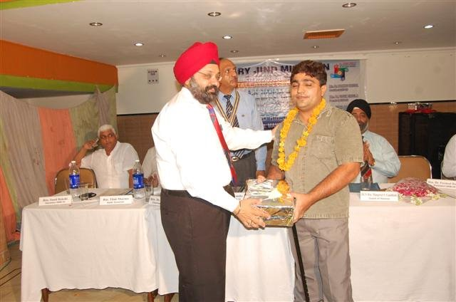 Recognize by Rotary Midtown, Jind