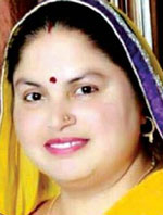Smt. Poonam Saini, Chairperson</b>, <br>Municipal Council, Jind